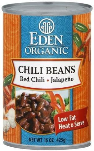 Eden Chili Beans - 15 oz