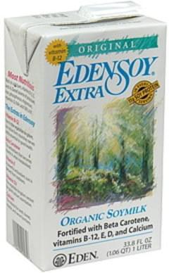 Eden Soy Organic Soymilk Original