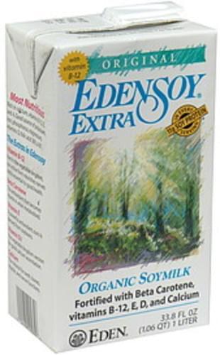 Eden Soy Original Organic Soymilk - 33.8 oz