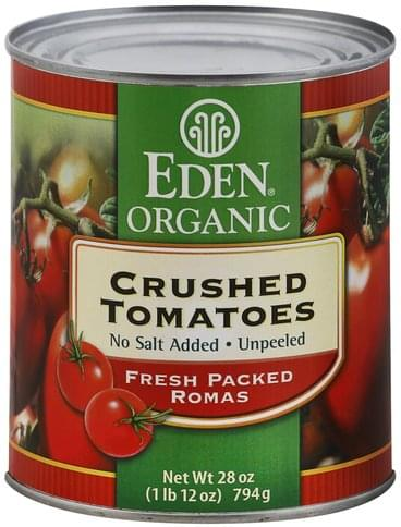 Eden Crushed Tomatoes - 28 oz