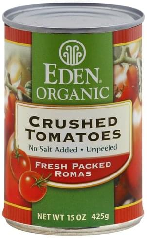Eden Crushed Tomatoes - 15 oz