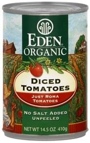 Eden Tomatoes Diced