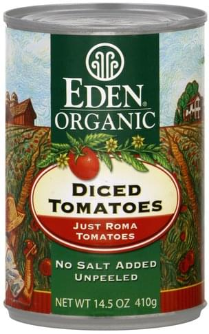 Eden Diced Tomatoes - 14.5 oz