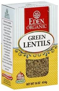 Eden Lentils Green