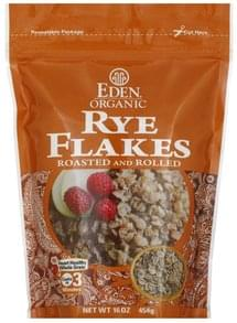 Eden Rye Flakes Roasted and Rolled