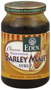 Eden Barley Malt Syrup Traditional