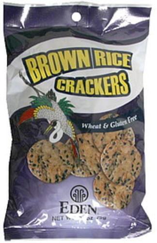Eden Brown Rice Crackers - 2.6 oz