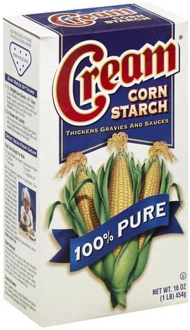 Cream 100% Pure Corn Starch - 16 oz