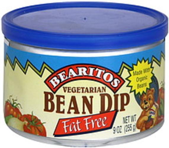 Bearitos Vegetarian, Fat Free Bean Dip - 9 oz