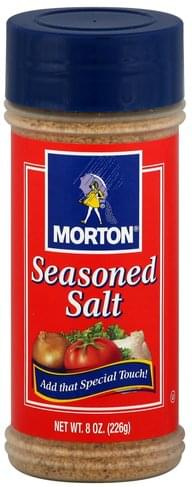 Morton Seasoned Salt - 8 oz, Nutrition Information | Innit