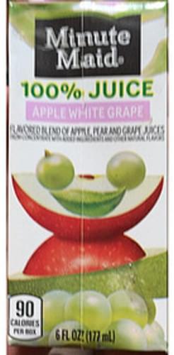Minute Maid Apple White Grape 100