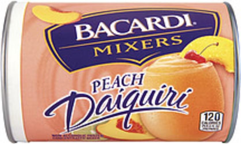Bacardi Frozen Mixers Frozen Concentrate Peach Daiquiri - 10 oz