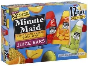 Minute Maid Juice Bars Assorted