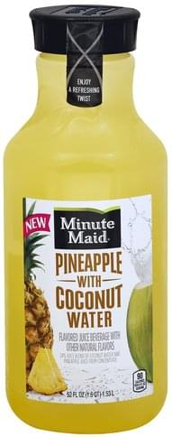 Minute Maid with Coconut Water Pineapple Juice - 52 oz