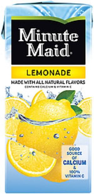 Minute Maid Lemonade - 1 l, Nutrition