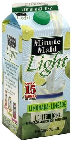 Minute Maid Limeade Fruit Drink - 64 oz
