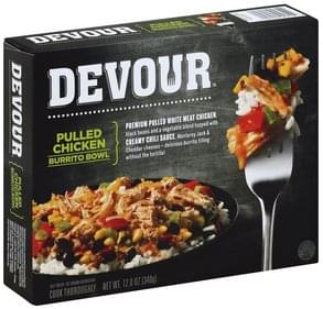 Devour Burrito Bowl Pulled Chicken