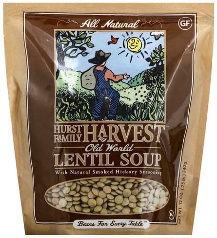 Hurst Family Harvest Old World Lentil Soup - 12 oz