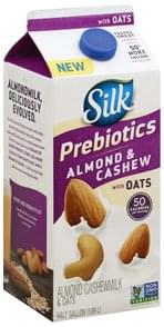 Silk Almond Cashewmilk Prebiotics, & Oats