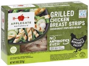 Applegate Chicken Breast Strips Grilled