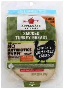 Applegate Turkey Breast Smoked, Family Size