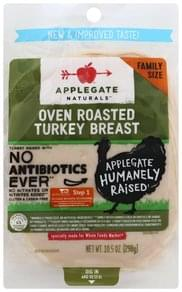 Applegate Turkey Breast Oven Roasted, Family Size