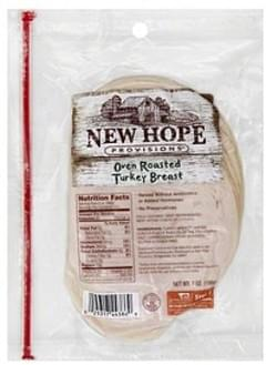New Hope Provisions Turkey Breast Oven Roasted