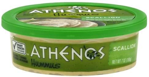 Athenos Scallion Hummus - 7 oz