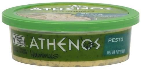 Athenos Pesto Hummus - 7 oz