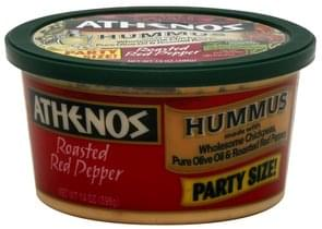 Athenos Hummus Roasted Red Pepper