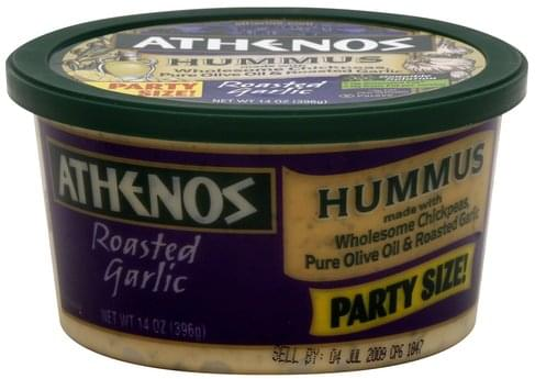 Athenos Roasted Garlic Hummus - 14 oz