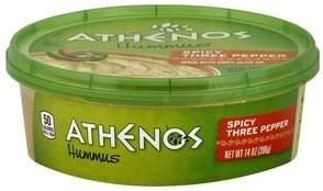 Athenos Hummus Spicy Three Pepper