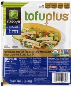 Nasoya TofuPlus Organic, Firm