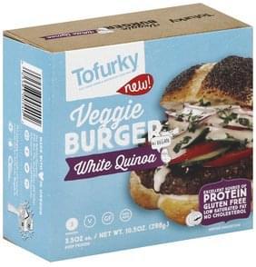 Tofurky Veggie Burger White Quinoa