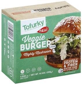 Tofurky Veggie Burger Mighty Mushroom