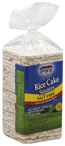 Paskesz Rice Cake Squares Ultra-Thin, Salt Free