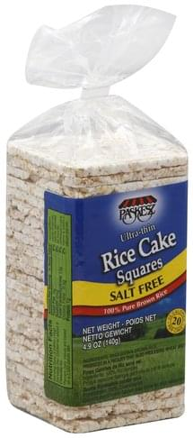 Paskesz Ultra-Thin, Salt Free Rice Cake Squares - 4.9 oz