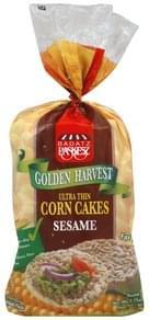 Paskesz Corn Cakes Ultra Thin, Sesame