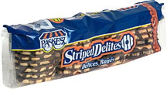 Paskesz Stripped Delites Cookies