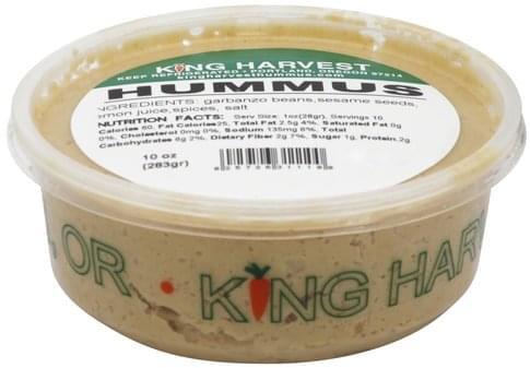 King Harvest Hummus - 10 oz