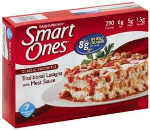 Smart Ones Traditional Lasagna with Meat Sauce