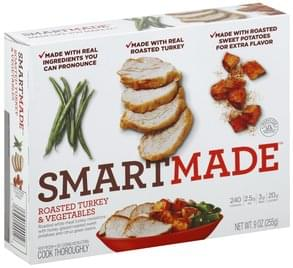 SmartMade Roasted Turkey & Vegetables