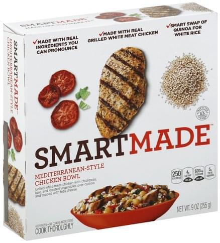 SmartMade Mediterranean-Style Chicken Bowl - 9 oz