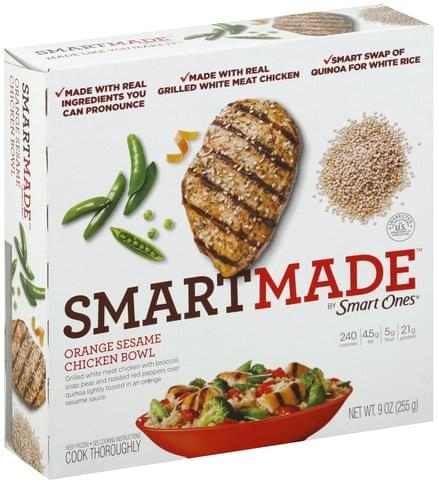 SmartMade Orange Sesame Chicken Bowl - 9 oz