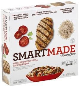 SmartMade Chicken Bowl Mediterranean-Style