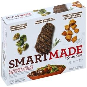SmartMade Rosemary Grilled Beef & Vegetables