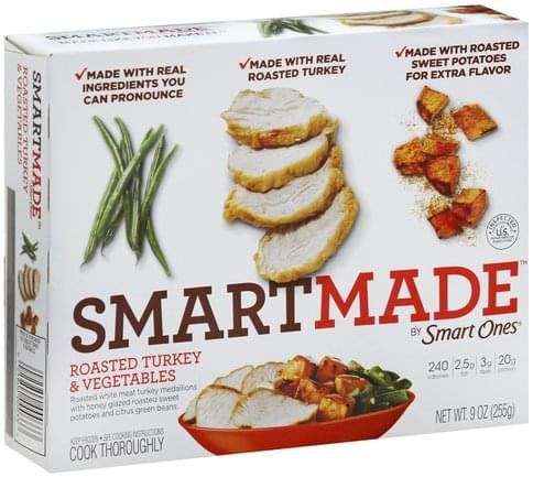 SmartMade Roasted Turkey & Vegetables - 9 oz