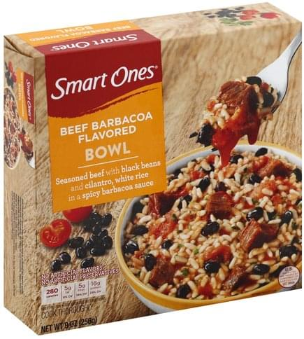 Smart Ones Beef Barbacoa Flavored Bowl - 9 oz