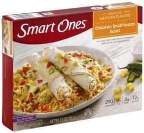 Smart Ones Chicken Enchiladas Suiza