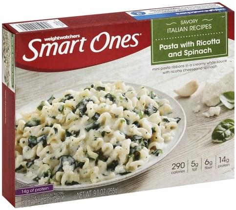 Smart Ones Pasta with Ricotta and Spinach - 9 oz
